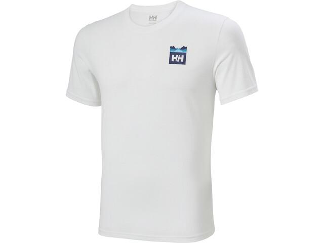 Helly Hansen Nord Graphic HH T-shirt Herrer, white